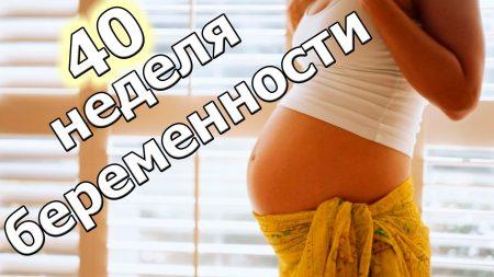 40 акушерская неделя беременности