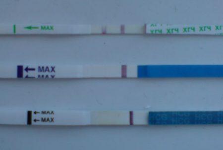 Измерение уровня ХГЧ в моче с помощью тест-полоски